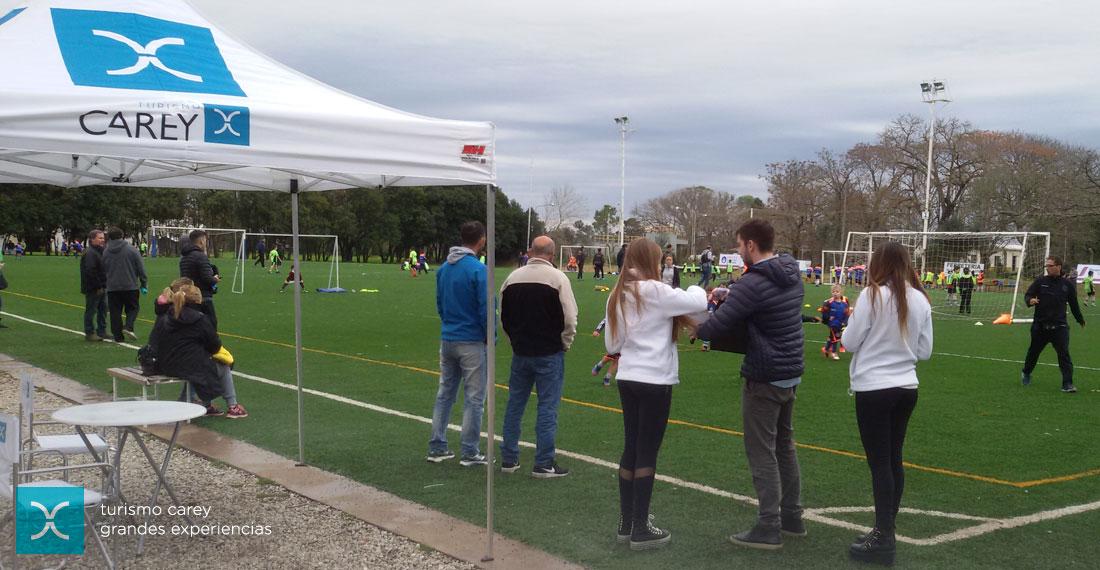 Fútbol infantil en Grupo Ekipo